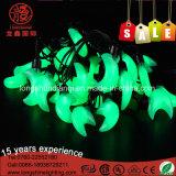 Dekoration LED-Mond-Form-weiße Cer RoHS Zeichenkette-Licht-FO-Ramadan