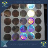 Etichette adesive di colore dell'ologramma olografico blu di obbligazione