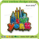 Souvenir promotionnel personnalisé New York (RC- USA) d'aimants de réfrigérateur de magnéto à décoration de cadeaux