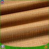 Tissu imperméable à l'eau de rideau en arrêt total de franc de tissu de polyester tissé par textile à la maison pour des rideaux en guichet