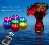 크리스마스 장식적인 방수 다색 원격 제어 LED 수족관 램프
