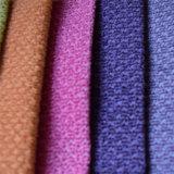 Tessuto del sofà del poliestere del velluto di disegno del catione di disegno dei fiori della canapa