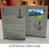 Vídeo vendedor caliente de la pantalla de encargo del LCD