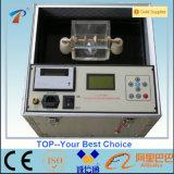 Verificador automático da tensão de avaria do óleo isolante do petróleo do transformador (verificador de BDV)