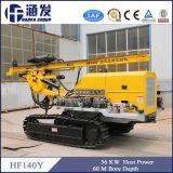 Tipo del cingolo, piattaforma di produzione idraulica del foro di scoppio di Hf140y