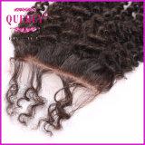De Sluiting van het haar, Kroezige Krullend, Kleur Nautral