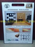 Lamellenförmig angeordnetes Bodenbelag-Zusatzgerät für Sockelleiste 2400*80*15mm