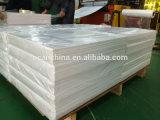 3*4 лист PVC лоснистой белой пластмассы ног 1.5mm твердый