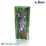 Наушник конструкции наушника конструкции панды милый с коробкой подарка