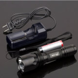 18650 Batterie LED Flashlight mit Li-Ion Battery