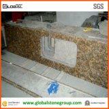 Controsoffitti naturali del granito di Giallo Fiorito per la cucina residenziale