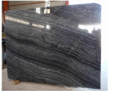 Черный мраморный каменный мрамор Nero Marquina