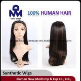 Perruque synthétique de cheveux de longs cheveux de mode