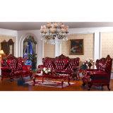 جلد أريكة مع جانب طاولة لأنّ يعيش غرفة أثاث لازم ([يف-د511])