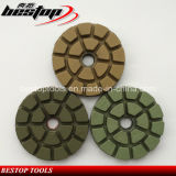 3 pouces D80mm Granite et marbre Wet Floor Polishing Pad