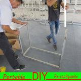 Juten 2016 cabine modular reusável & portátil de DIY da feira profissional de Aulminum