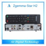 Des Italien-heiße Verkauf Zgemma Stern-H2 Satellitendoppeltuners empfänger-Linux OS-E2 DVB-S2+T2/C