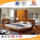 Самая последняя мебель спальни конструирует деревянные кровати спальни (UL-B88)