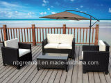 Outdoor Conservatoryのための新しい4PCS Rattan Wicker Furniture