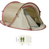 Einlagige preiswerte knallen oben kampierendes Zelt mit Fiberglas Pole