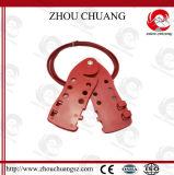 薄いケーブルの別の使用中の調節可能なステンレス鋼ケーブルのロックアウト