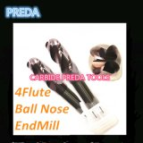HRC55 8mm 4 Flutes Ball Nose端Mills Uncoated
