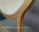 둥근 뒤 주조된 거품 알루미늄 Banquest 쌓을수 있는 의자