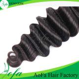 2016年の広州の卸し売りバージンの毛100%のブラジルの人間の毛髪の拡張