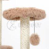 Großverkauf und New Design Plush Fabric Cat Tree