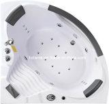 La tina caliente apropiada de interior del BALNEARIO con nuevamente labra los apoyos para la cabeza (CDT-003)