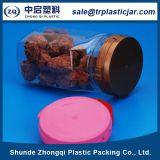 fiole en plastique carrée de la nourriture 350ml