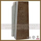 O abrasivo de lustro perfeito utiliza ferramentas o diamante Fickert para polonês do granito/o de mármore