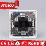 CE europeo Approval 2gang Switch Socket (N-L2K)