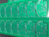 El doble echó a un lado tarjeta de circuitos plateada oro del PWB de la capa para los productos electrónicos de consumo