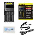 Nieuwe Sc2 18650 Output 2 van de Lader van de Batterij Nitecore USB Baai dreef 18650 Li-Ion de Lader van de Batterij aan