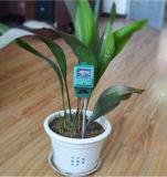 medidor de pH da umidade do medidor de teste da luz da luz solar do instrumento de medição do solo do jardim 3-in-1