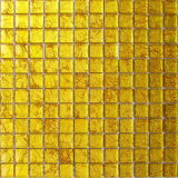 Mosaico di vetro dorato di arte (VMW3101)