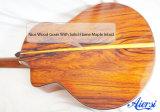 Toda a guitarra acústica do abeto vermelho mestre contínuo da classe com parte traseira de Cocobolo (SG03SC)