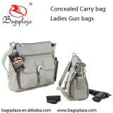 (GB005)隠されるカスタマイズされたのどの革は女性のための財布袋を運ぶ