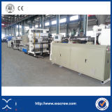 PE/PVC Mikroschaumgummi-Vorstand-Maschinerie-Strangpresßling