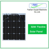 comitato solare semi flessibile 50W/modulo solare con le pile solari di Sunpower
