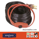 Cable térmico del tubo de agua del anticongelante