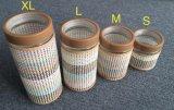 مستديرة يوسع [مووثد] مرطبان زجاجيّة مع غطاء بلاستيكيّة