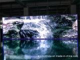 Exhibición de LED a todo color de la publicidad al aire libre P18