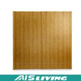 아시아 작풍 미닫이 문 (AIS-W189)를 가진 고아한 단단한 나무 옷장 옷장