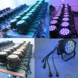 Waterproof DMX 14X10W RGBW PAR Can LED Luz de Palco
