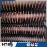 Ahorrador de los tubos aletados del espiral del elemento del calor de la caldera para la industria