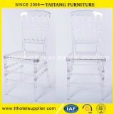 Design Transparente Clear Crystal Resin Plastic Napoleon Wedding Event Chair