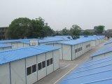 Una forma de tejado prefabricado Casa de alojamiento temporal