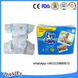 Gutes Absorbency Cotton Baby Diaper (mit leakguards, Magiebändern)